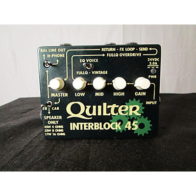 Quilter Labs Interblock 45 Effect Pedal