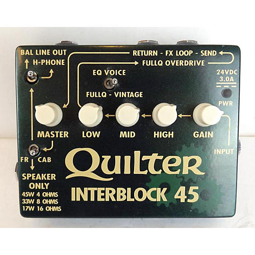 Quilter Labs Interblock 45 Guitar Preamp