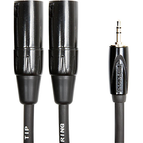 Roland Interconnect Cable-3.5mm-Dual XLR (Male)