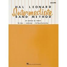 Hal Leonard Intermediate Band Method - Drums