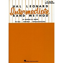 Hal Leonard Intermediate Band Method E Flat Alto Saxophone
