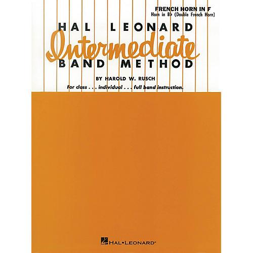 Hal Leonard Intermediate Band Method French Horn In F