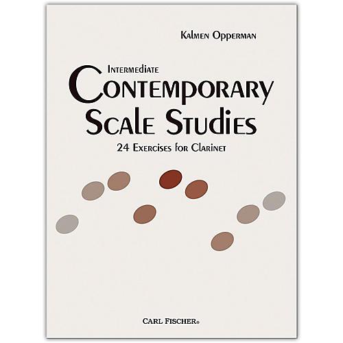 Intermediate Contemporary Scale Studies - Clarinet