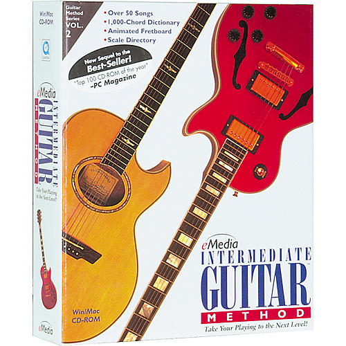 Emedia Intermediate Guitar Method Volume 2 (CD-ROM)