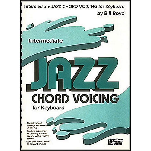 Hal Leonard Intermediate Jazz Chord Voicing for Keyboard