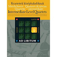 Editio Musica Budapest Intermediate Level Quartets EMB Series Softcover Edited by László Zempléni