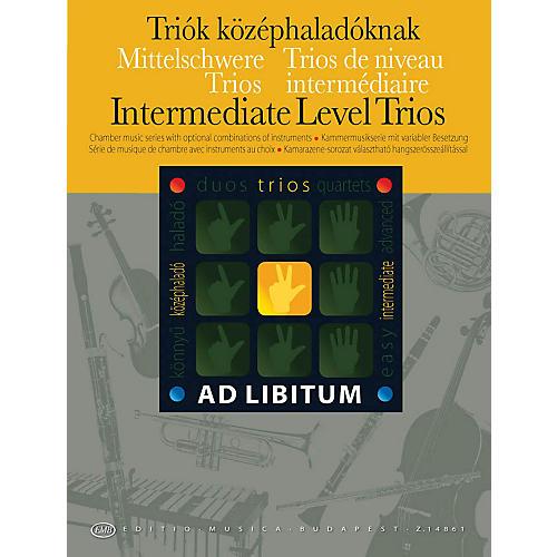 Editio Musica Budapest Intermediate Level Trios EMB Series by Various
