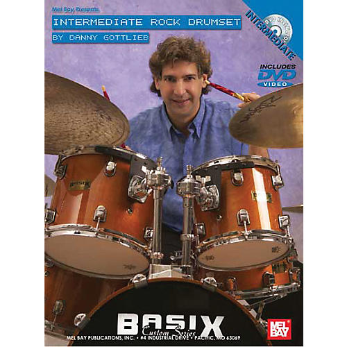 Mel Bay Intermediate Rock Drumset DVD and Chart
