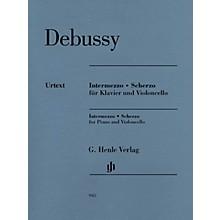 G. Henle Verlag Intermezzo and Scherzo Henle Music Folios by Claude Debussy Edited by Ernst-Günter Heinemann
