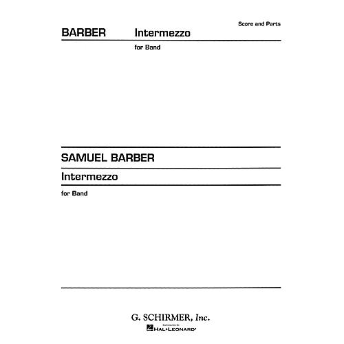 G. Schirmer Intermezzo (from Vanessa) (Score and Parts) Concert Band Level 4-5 Composed by Samuel Barber