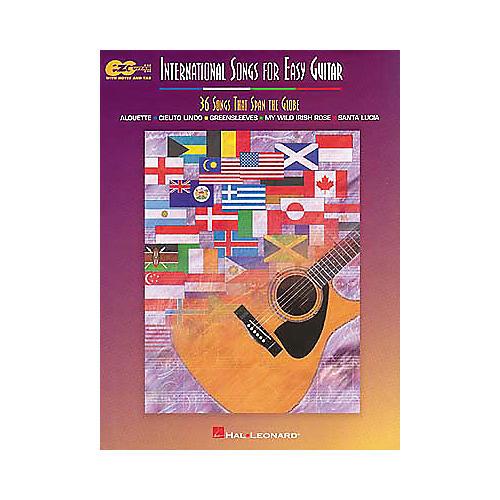 Hal Leonard International Songs for Easy Guitar Book