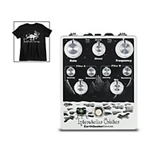 EarthQuaker Devices Interstellar Orbiter Dual Resonant Filter Guitar Effects Pedal and Octoskull T-Shirt Large Black