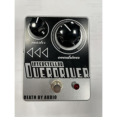 Death By Audio Interstellar Overdriver Distortion Effect Pedal