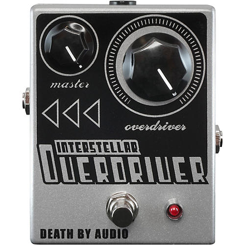 Death By Audio Interstellar Overdriver True Amp-Like Overdrive Pedal Silver