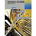 Curnow Music Interval Studies (Grade 2 to 4 - Score and Parts) Concert Band Level 2-4 Composed by James Curnow thumbnail