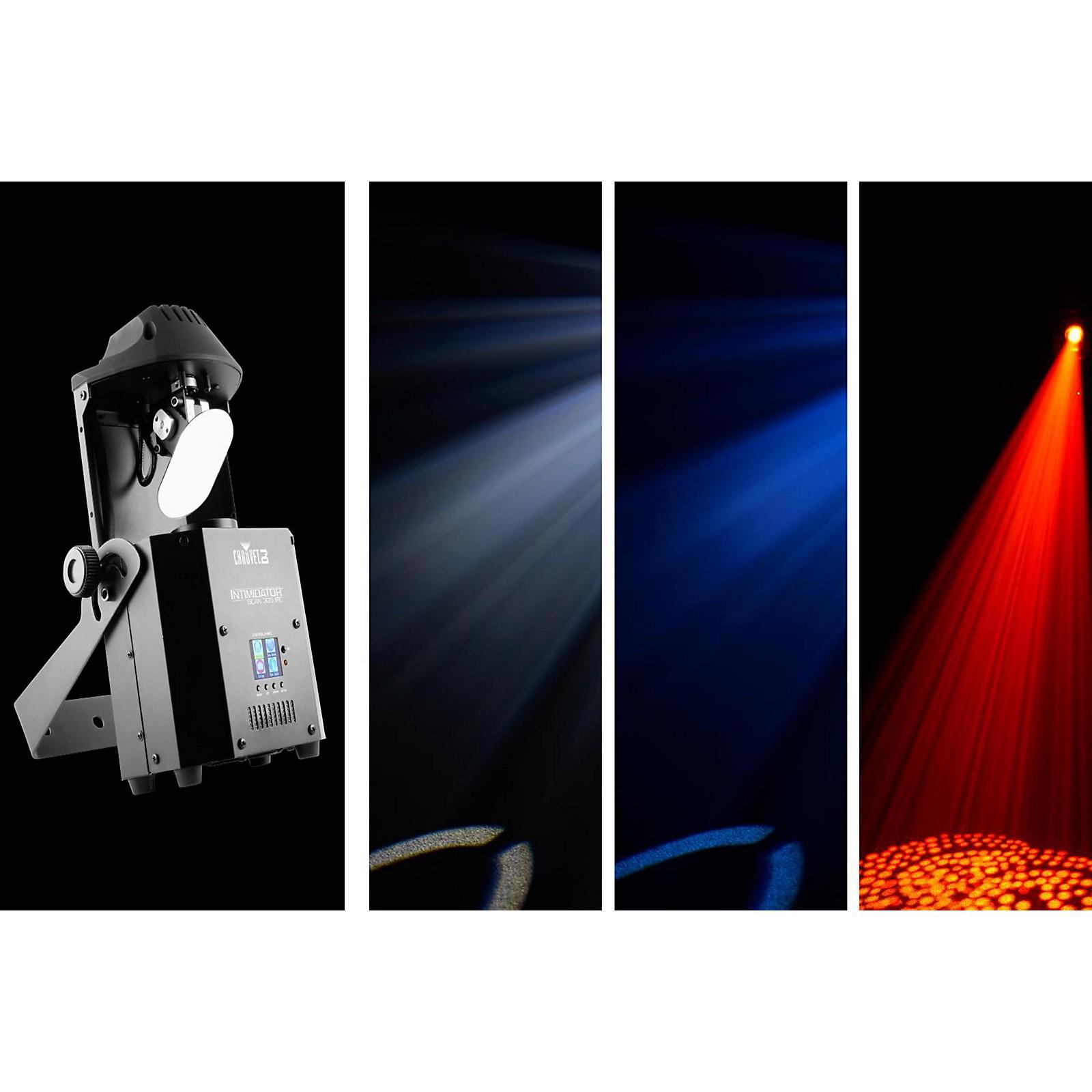 CHAUVET DJ Intimidator Scan 305 IRC Compact LED Scanner/Moving Head Effect Light