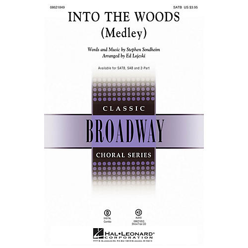 Hal Leonard Into the Woods (Medley) SAB Arranged by Ed Lojeski