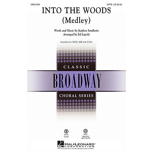 Hal Leonard Into the Woods (Medley) SATB arranged by Ed Lojeski