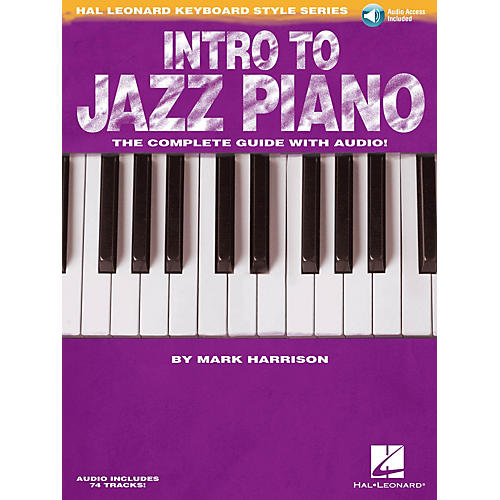 Hal Leonard Intro to Jazz Piano Keyboard Instruction Series Softcover Audio Online Written by Mark Harrison