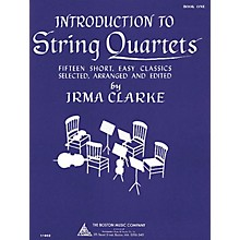 Music Sales Intro to String Quartets Book 1 Music Sales America Series Composed by Various