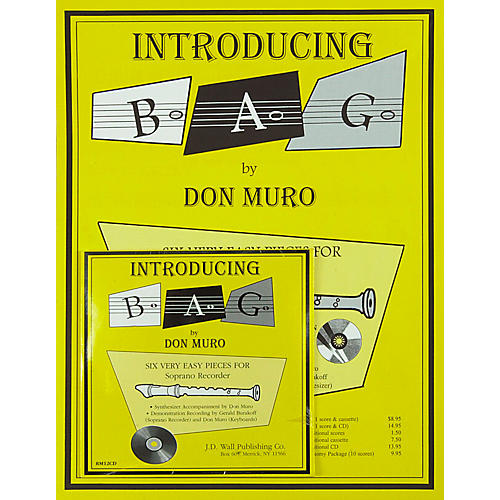 Magnamusic Introducing B-A-G/6 Scores with CD