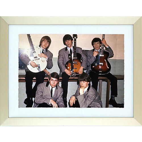 Hulton Archive Introducing the Rolling Stones Framed Print