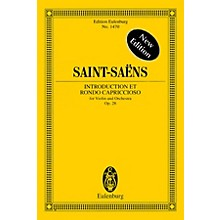 Eulenburg Introduction et Rondo Capriccioso, Op. 28 Study Score Series Softcover Composed by Camille Saint-Saens