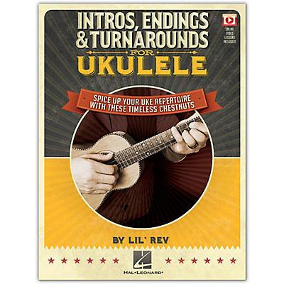 Hal Leonard Intros, Endings & Turnarounds for Ukulele Book/Video Online