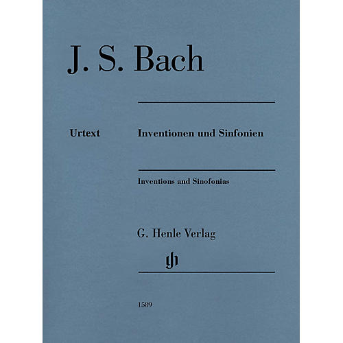G. Henle Verlag Inventions and Sinfonias Henle Music Folios Series Softcover
