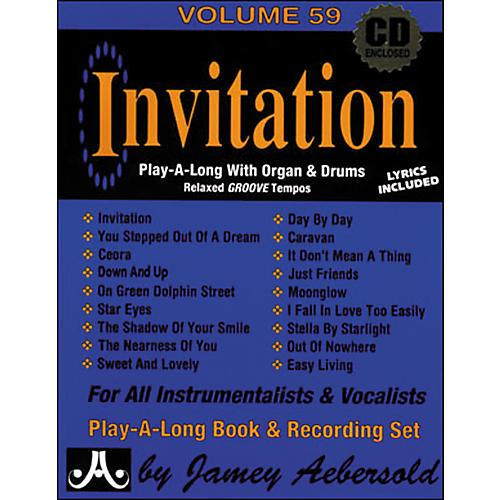 Jamey Aebersold Invitation Book and CD