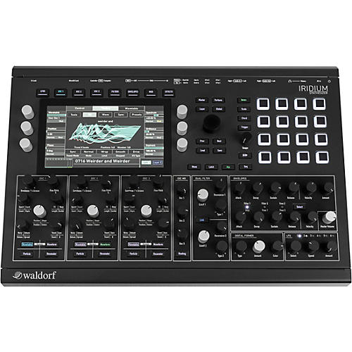 Waldorf Iridium Digital Polyphonic Synthesizer Black