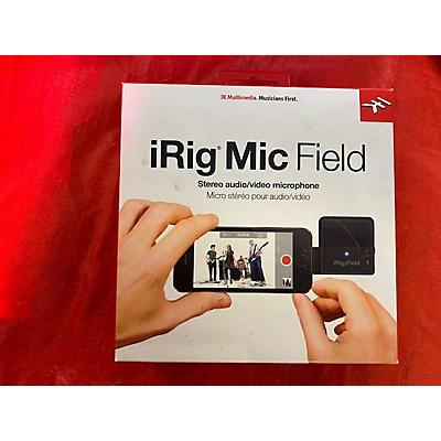 IK Multimedia Irig Mic Field Camera Microphones