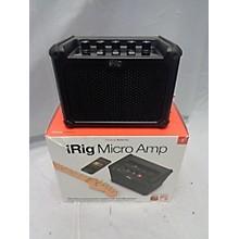 IK Multimedia Irig Micro Amp 15W 1x4 Battery Powered Amp