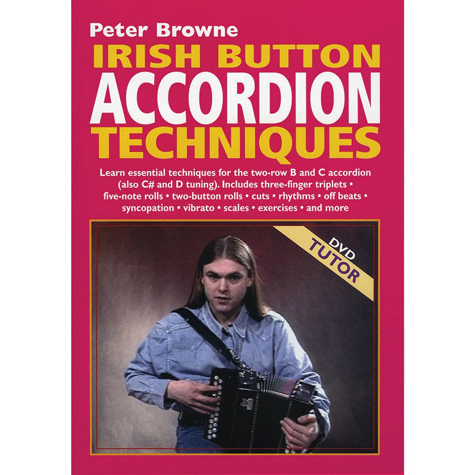 Waltons Irish Button Accordion Techniques Waltons Irish Music Dvd Series DVD Written by Peter Browne