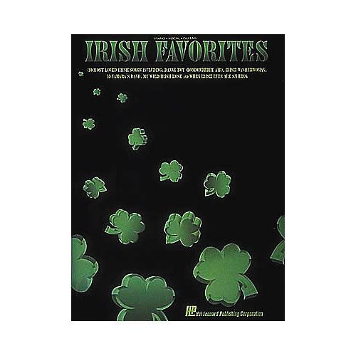 Hal Leonard Irish Favorites Piano/Vocal/Guitar Songbook