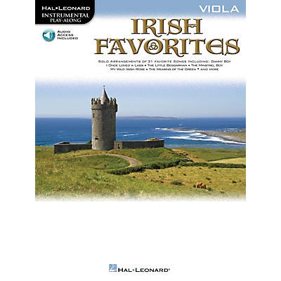 Hal Leonard Irish Favorites (Viola) Instrumental Play-Along Series Softcover Audio Online