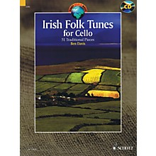 Schott Irish Folk Tunes for Cello (51 Traditional Pieces) String Series Softcover with CD