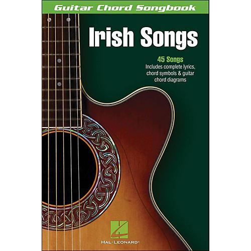 Hal Leonard Irish Songs Guitar Chord Songbook