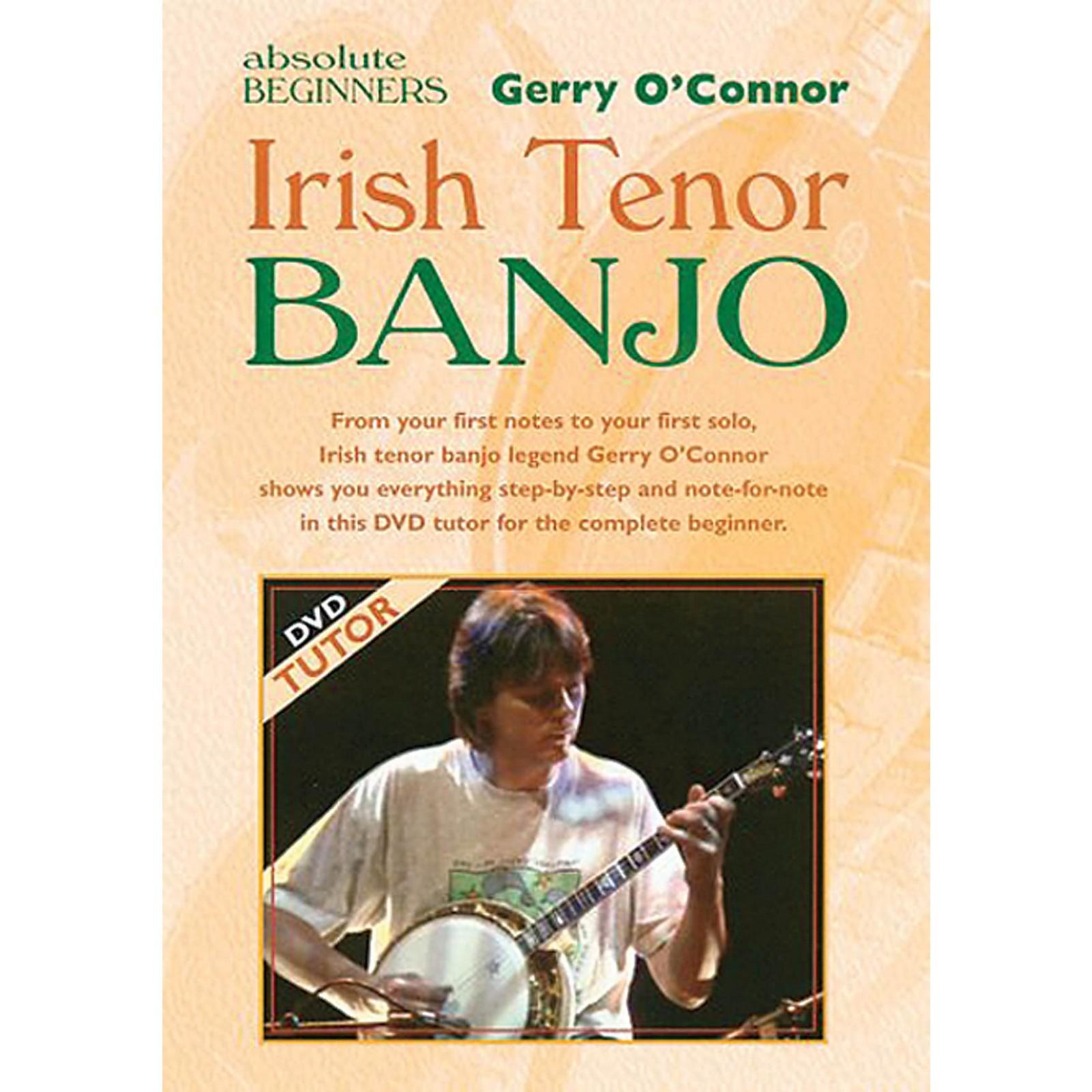 Waltons Irish Tenor Banjo (for Absolute Beginners) Waltons Irish Music Books Series DVD Written by Gerry O'Connor