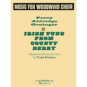 G. Schirmer Irish Tune Ww Choir Full Score Concert Band ...