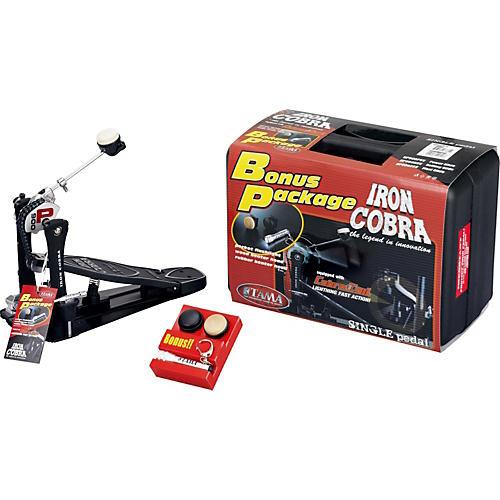 TAMA Iron Cobra Power Glide Single Bass Drum Pedal Bonus Package