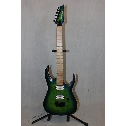 Ibanez Iron Label Rgaix6mqm Solid Body Electric Guitar GREEN FADE