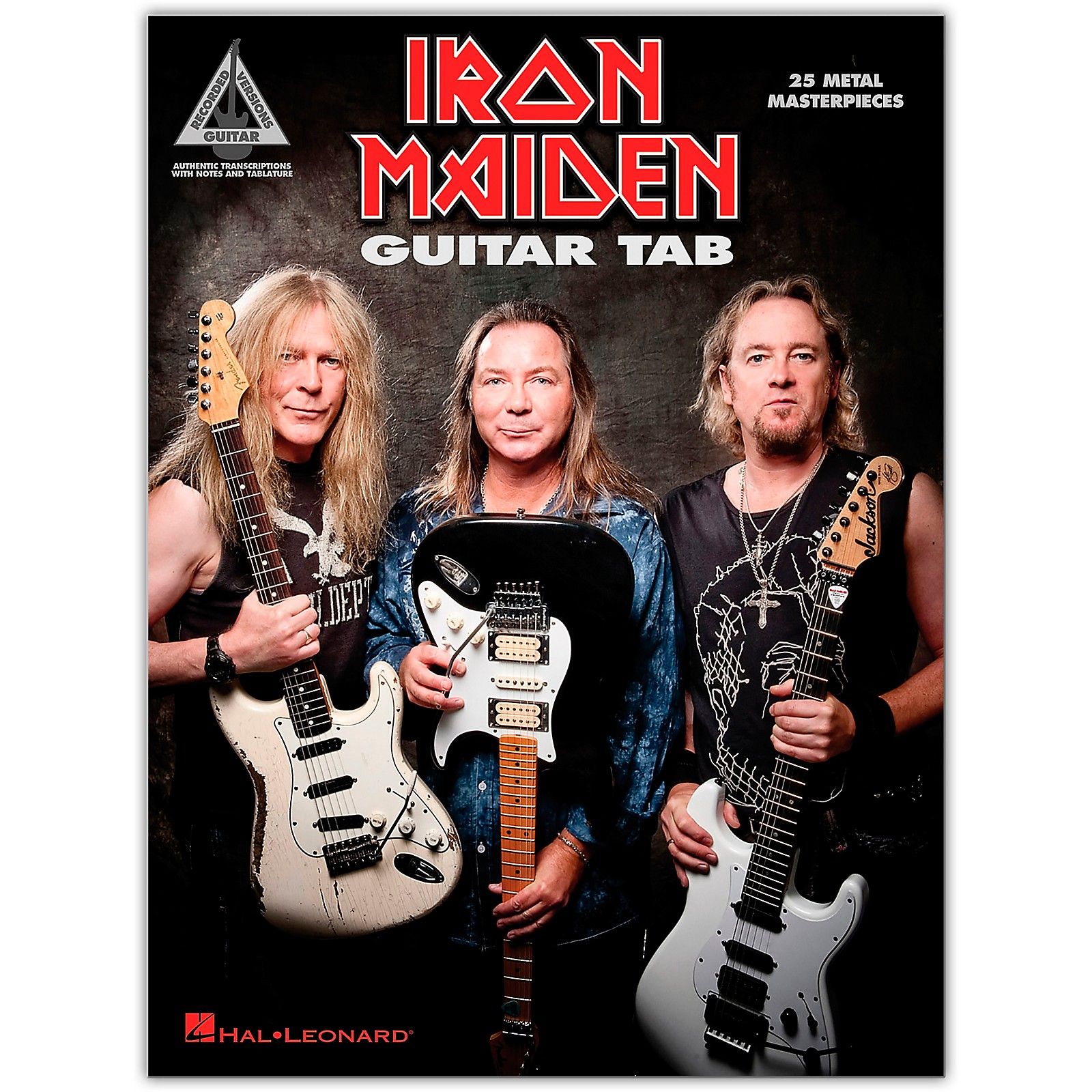 Hal Leonard Iron Maiden - Guitar Tab (25 Metal Masterpieces) Guitar Recorded Version Series Softcover by Iron Maiden