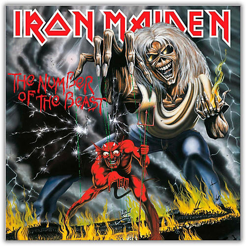 WEA Iron Maiden - The Number of the Beast Vinyl LP