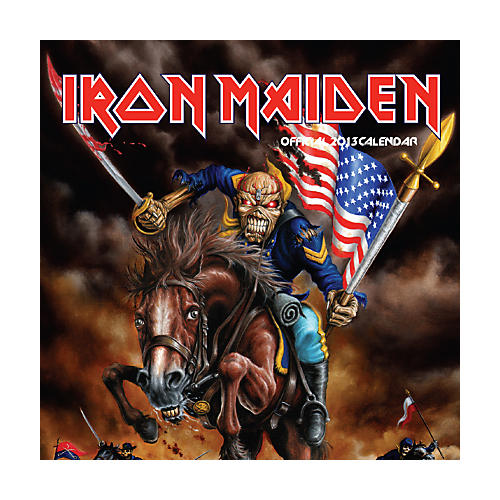 Browntrout Publishing Iron Maiden 2013 From Fear to Eternity Square Wall