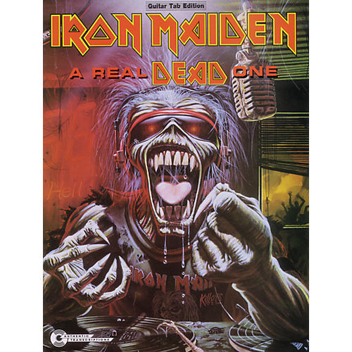 Alfred Iron Maiden A Real Dead One (Guitar)