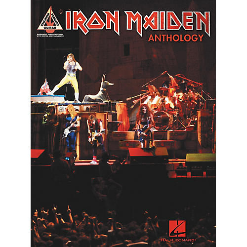 Hal Leonard Iron Maiden Anthology (Tab Songbook)