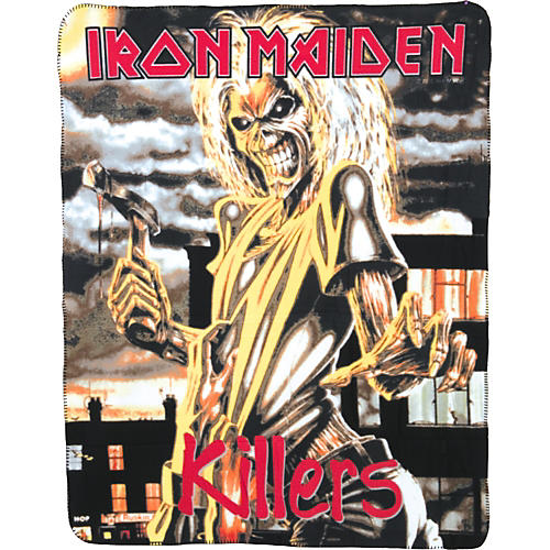 Gear One Iron Maiden 'Killers' Fleece Blanket