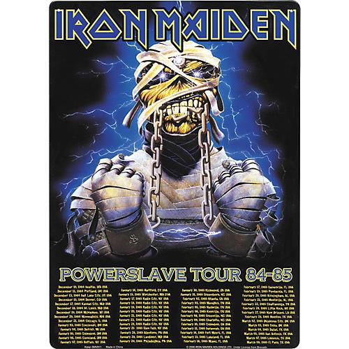 Gear One Iron Maiden Powerslave Tour 84-85 Sign