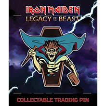 Entertainment Earth Iron Maiden Vampire Hunter Eddie Lapel Pin